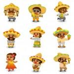 Cartoon Mexican icon set — Stock Vector #8307373