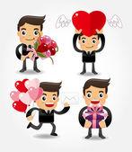 Amor dia dos namorados — Vetorial Stock