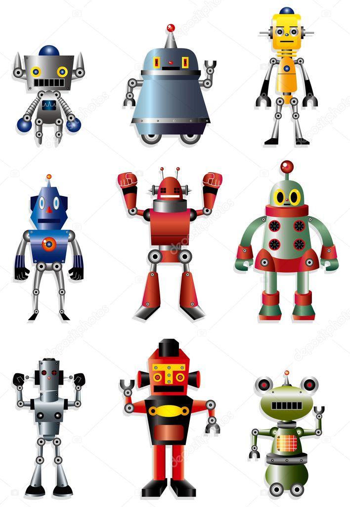 робот иконки: