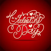 Valentine's Day love type — Stockvector