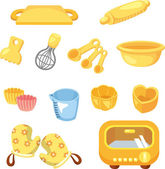 Cartoon Bake tool icon — Stock Vector