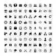 90 iconos web — Vector de stock