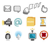Internet & Website icons,Web Icons, icons Set — Stock Vector
