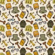 Law seamless pattern — Stok Vektör