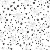 Pattern star — Vector de stock