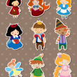 Story stickers — Stockvektor #9974625