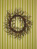 Decorative wreath — Stock Photo