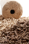 Wheatfeed pellets — Stock Photo