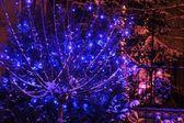 Christmas outside decoration — Stock Photo