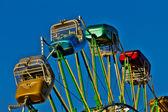 Carros de passageiro de roda-gigante — Foto Stock