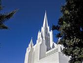 день церковь мормонов лестница — Стоковое фото
