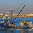 Commercial Fishing — Foto de Stock