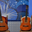 Stock Photo: Flamenco guitars