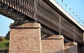 Tåg bro — Stockfoto