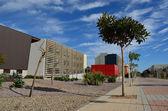 Almeria University main street - Spain — Stock Photo