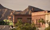 Far west filming location in Almeria — Stock Photo