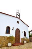 Rural church in mountain village in Spain — Stock Photo