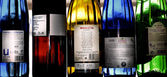 Spanish wines collection — Stock Photo