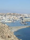 Almeria mediterranean town — Stock Photo