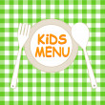 Kids Menu Card Design template — Stock Vector