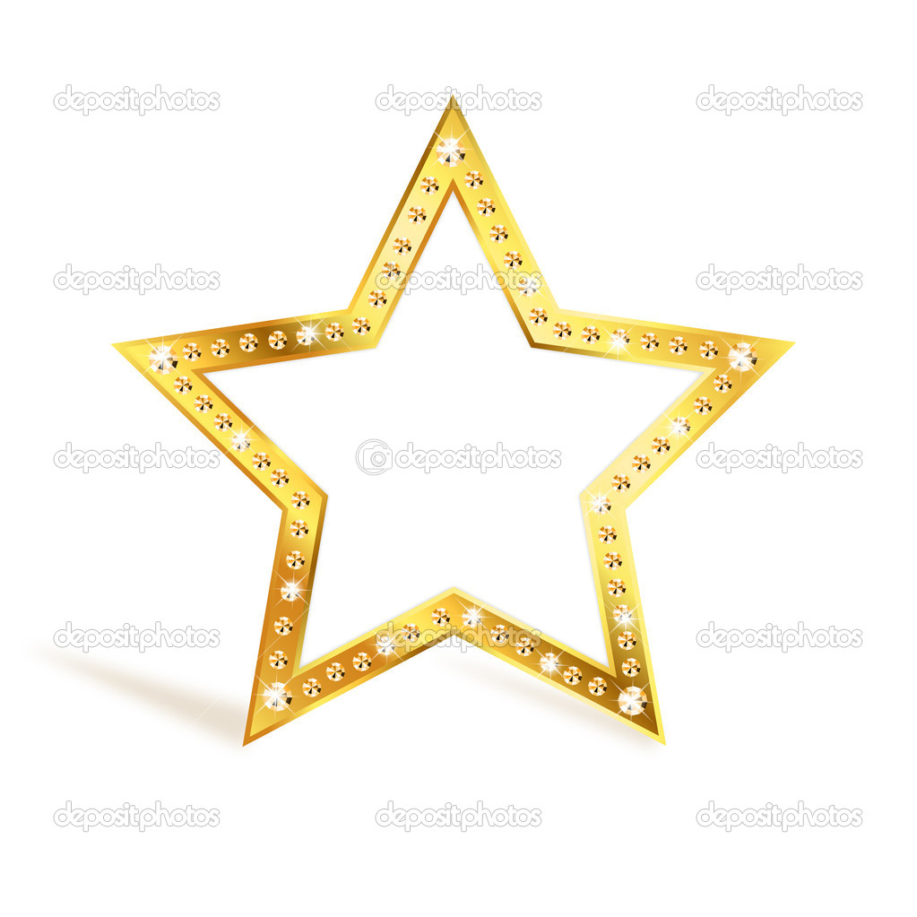 Gold star — Stock Vector © Kristina2211 #10399792- photo #50