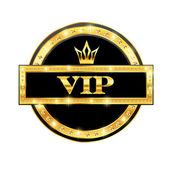 Icon VIP — Stock Vector