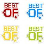 Best of — Stock Vector