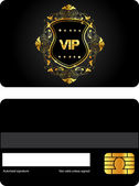 Vip card — Stock Vector