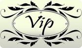 Vip card — Stock Vector