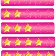 Royalty-Free Stock Vector Image: Rating System Review Stars