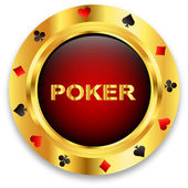 Casino Poker — Stock Vector