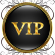 Vip icon — Stockvectorbeeld