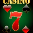 Stock Vector: Casino