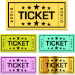 Ticket — Stock Vector