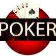 Casino. Poker — Stock Vector