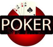 Casino. Poker — Stock Vector
