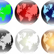 Globes — Stock Vector #8561011