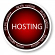 Hosting - Stock Vector