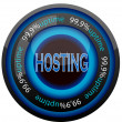 Stock Vector: Hosting