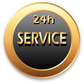 Service 24 — Stock Vector
