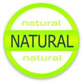 Natural — Stock Vector