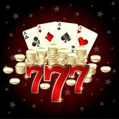 777 Casino — Stock Vector