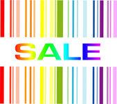 Sale code — Stock Vector
