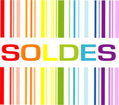 Soldes code — Stock Vector