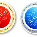 Hosting — Stock Vector #8670656