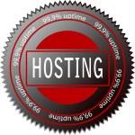 Hosting — Stock Vector