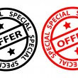 Stock Vector: Special Offer