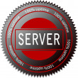 Stock Vector: Server icon