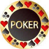 Poker. Casino — Stock Vector