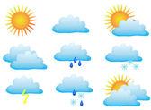 Pogoda — Wektor stockowy